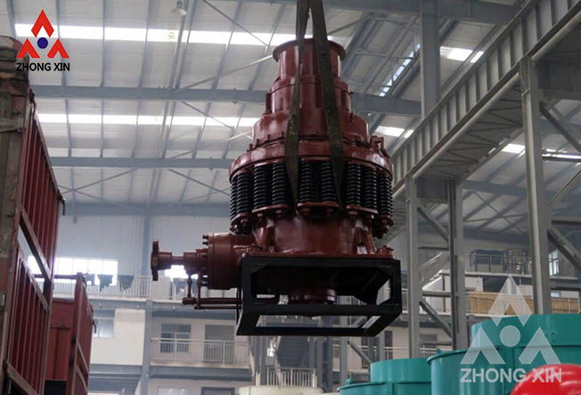 PYB 600 spring cone crusher is shipping