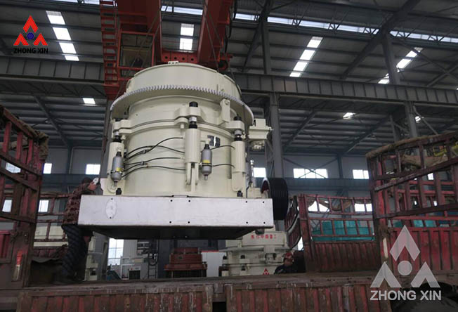 XHP400 hydraulic cone crusher is shipping