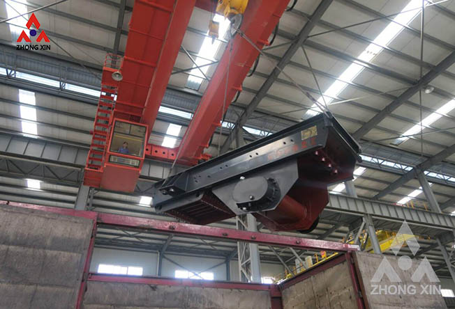 ZSW Series Vibrating Feeder is shipping