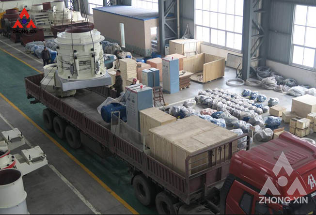 XHP300 hydraulic cone crusher is shipping