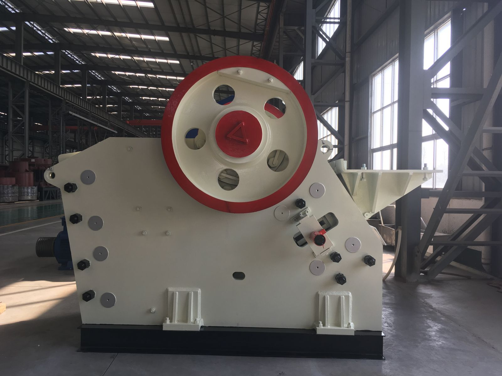 The working characteristics of jaw crusher
