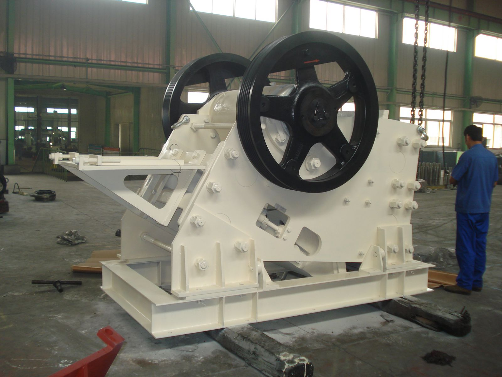 Jaw Crusher in Gravel Production Line