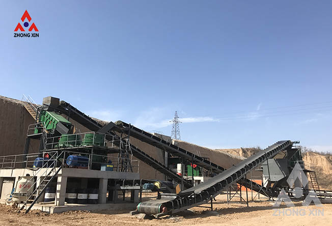 150-200tph Aluminum stone crushing production line