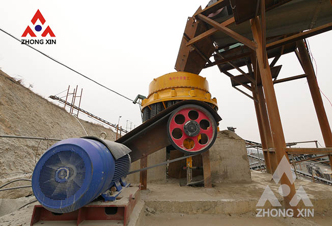 Causes and solutions for blocking the cone crusher