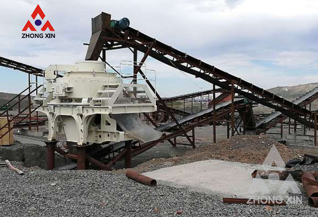 How to solve sand making machine the problem of rocking