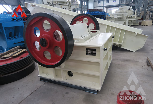 What are the wearing parts of the jaw crusher?
