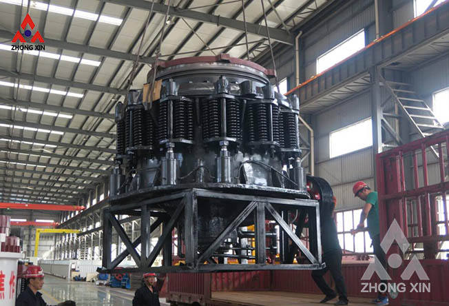 zx1400 compound cone crusher is shipping