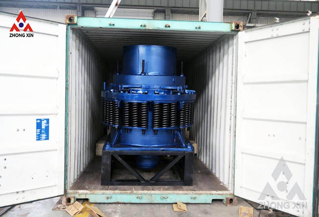 PYD 900 Spring cone crusher sent to the Philippines
