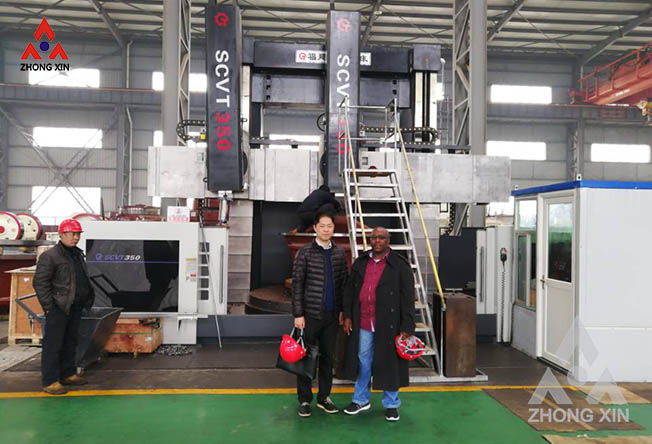 Kenya customer visits Zhongxin Heavy Industry