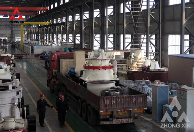 CH440 Single Cylinder Hydraulic Cone Crusher is shipping
