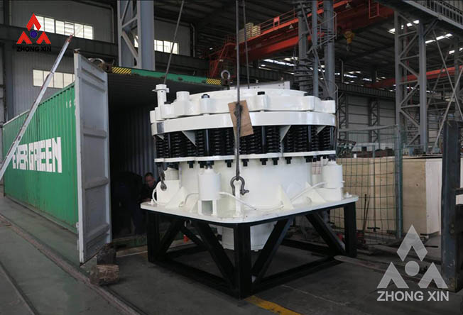 ZX 1300 compound cone crusher is shipping