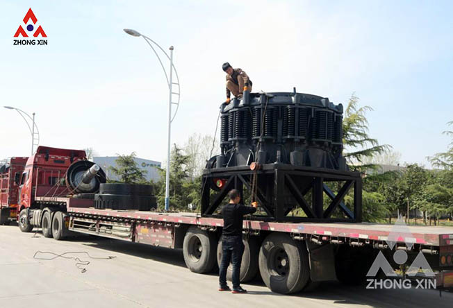 Zhongxin XHP500 hydraulic cone crusher and ZX1400 Compound Cone Crusher are shipping