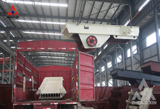 ZSW 3896 Vibrating Feeder is shipping