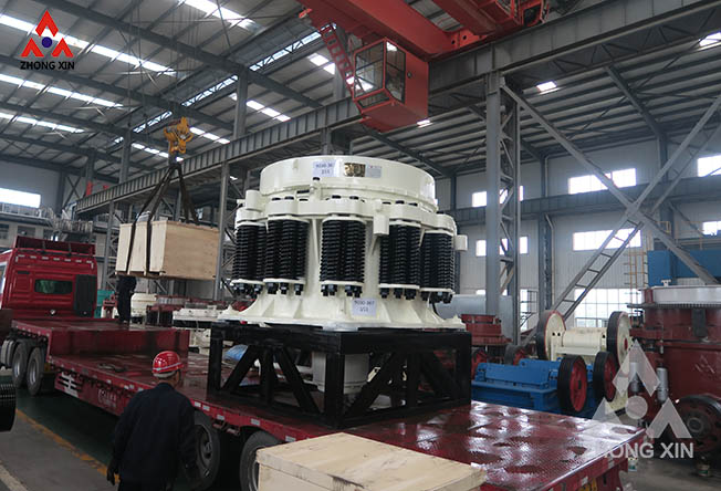 PYD-1750 Spring Cone Crusher is shipping