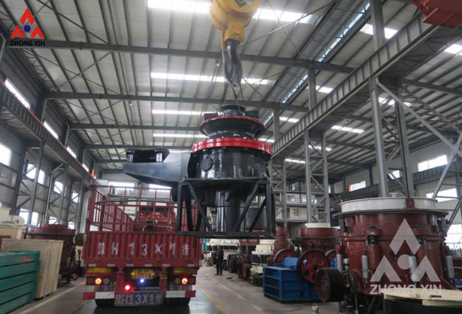 DP100 Single Cylinder Hydraulic Cone Crusher is shipping