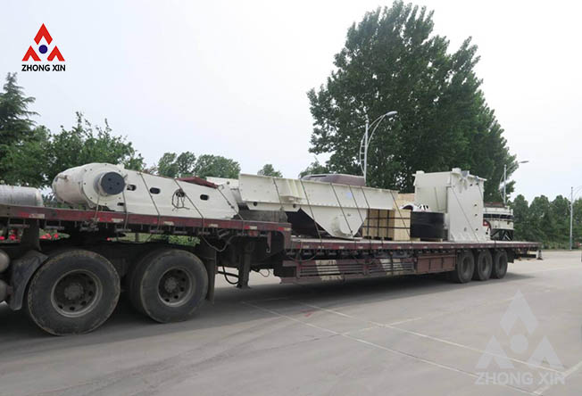 Symons cone crusher,jaw crusher and vibrating feeder are shipping