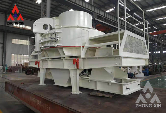 Where is the new sand making machine in terms of environmental protection?