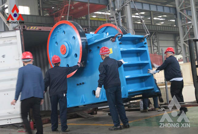 What is the reason for the rapid wear of the jaw plate of the jaw crusher