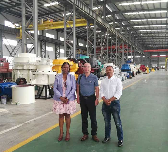 Warmly welcome South African customers to visit our company