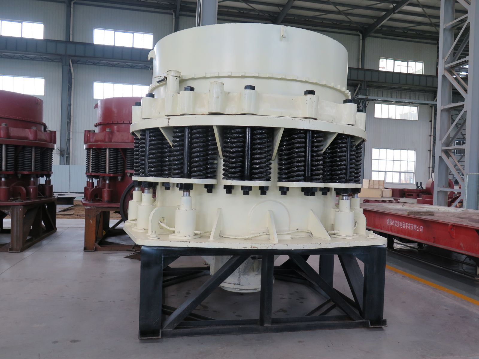 National infrastructure can not be separated from cone crusher