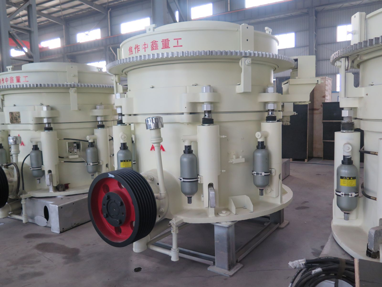 It is imperative to regulate the safe operation of the cone crusher