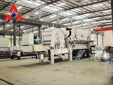 Mobile Impact Crusher Plants