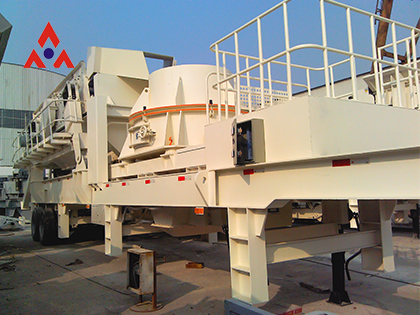 Mobile VSI Crushing Plants