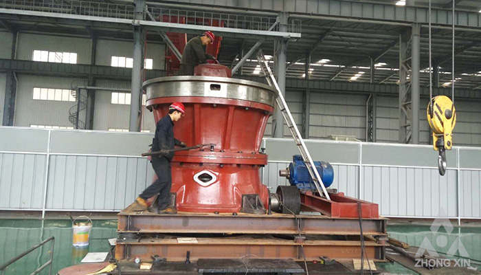 DP Series Single Cylinder Hydraulic Cone Crusher Product Overview