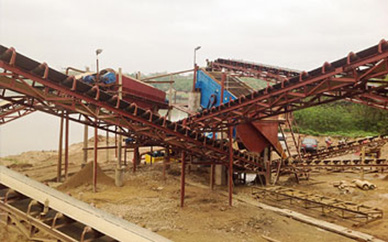 1000TPH Mountain Stone Crushing Plant In Middle East
