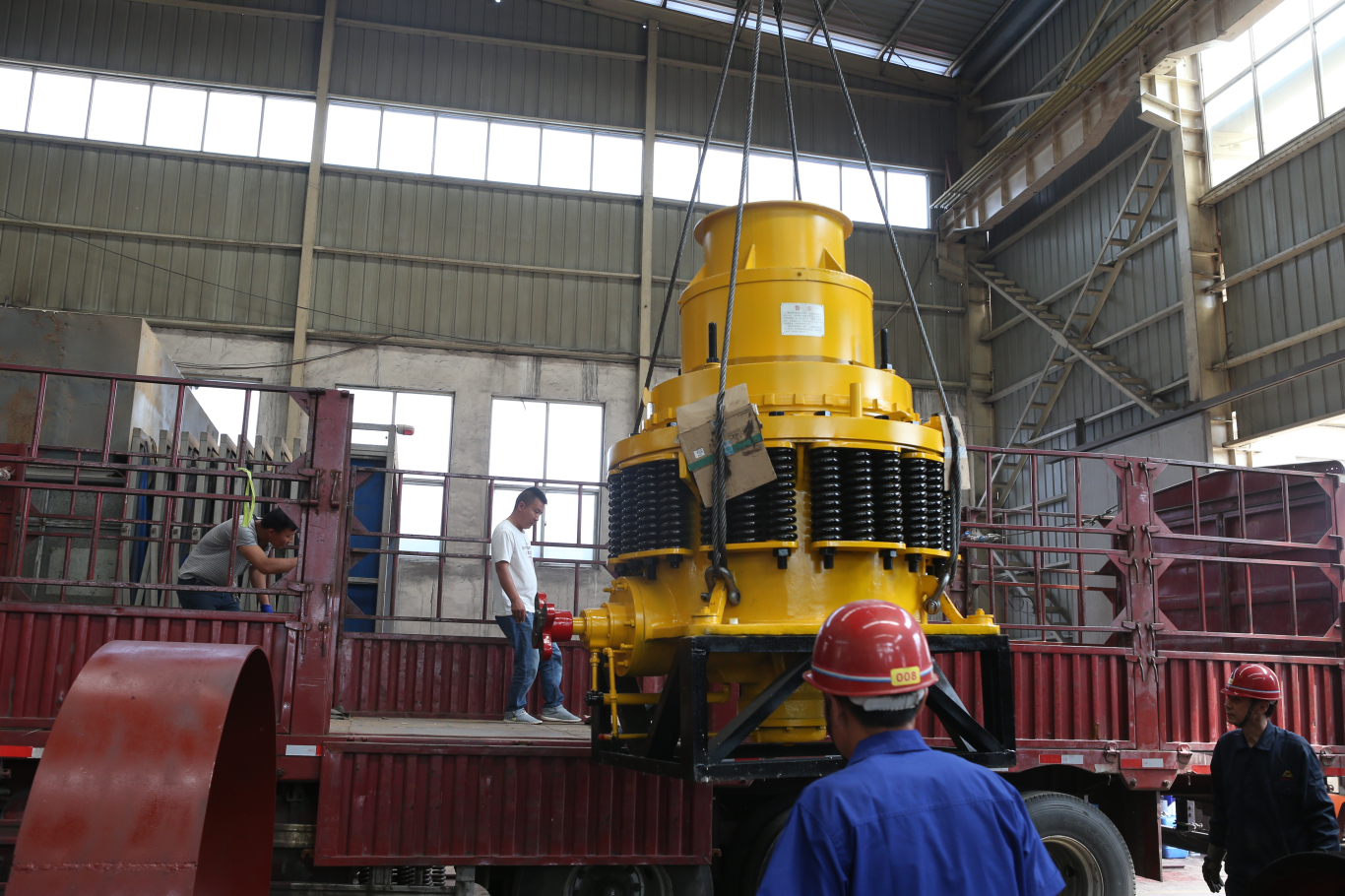 The reasons of symons cone crusher crushing chamber wear