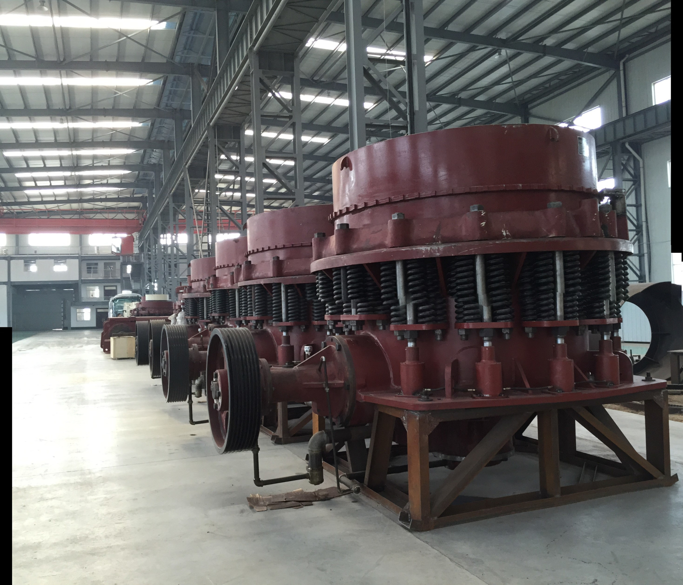 Symons cone crusher application in sand and gravel market