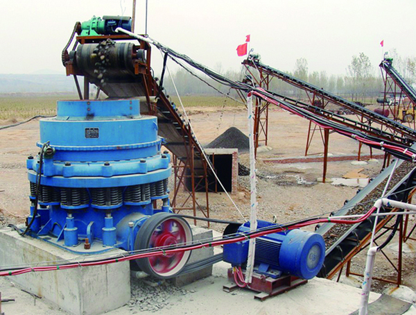 Configuration of 250TPH River Stone Crushing Plant