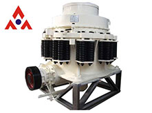 Zhongxin spring cone crusher is more efficient