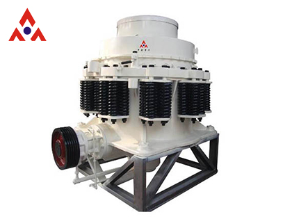 Cone crusher can help you save your cost for sand production equipment