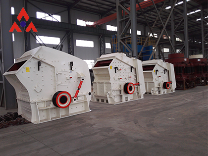 Zhongxin impact crusher is good for ore crushing production line