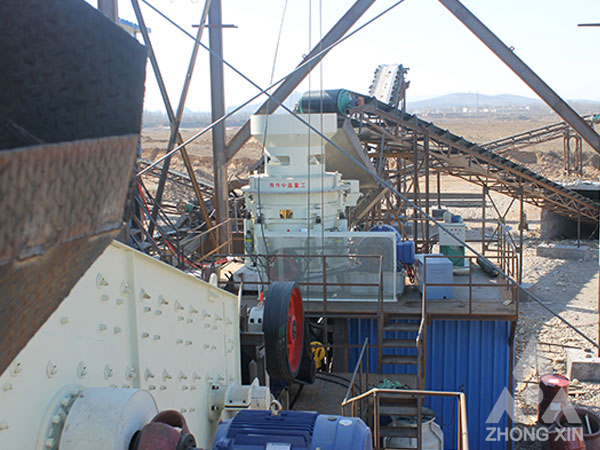 300TPH Mountain Stone Crushing Plant In Indonesia