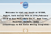 6th International Mining, Exploration, Mineral Processing Technology, Metals &Machinery Exhibition