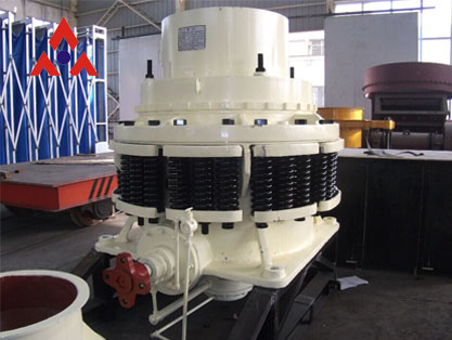 PY spring cone crusher is the preferred iron ore crushing equipment